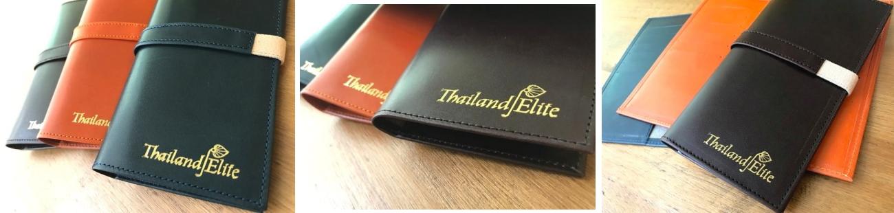 タイランドエリートロゴ入りカードケース