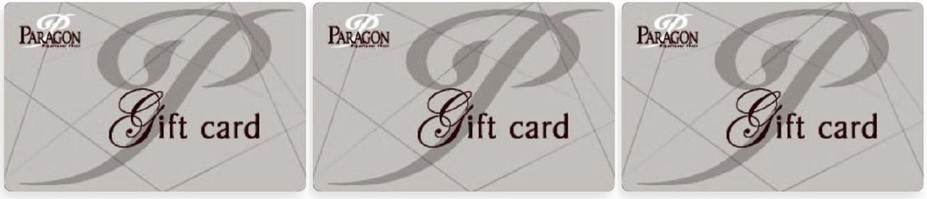 パラゴンデパートギフトカード
