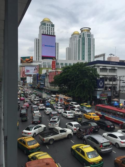 タイの道路事情
