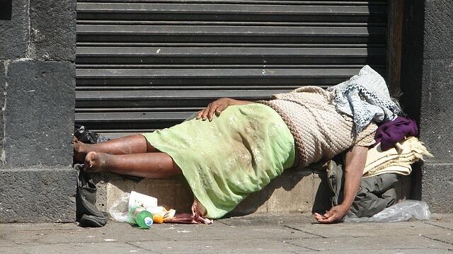 メキシコシティ ホームレス