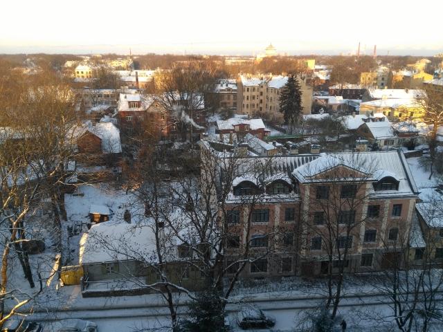 ラトビア 雪